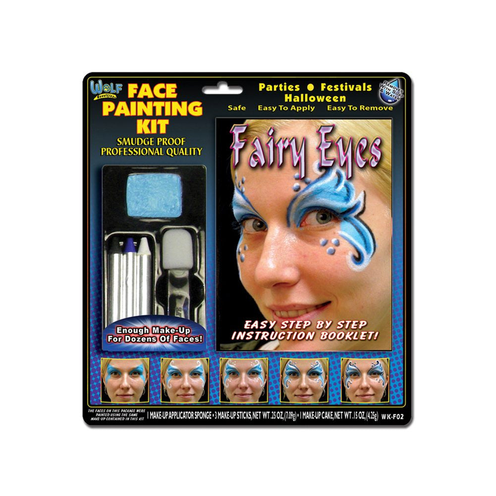 Wolfe Fairy Face Painting Kits (4 Colors)