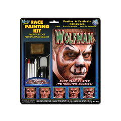 Wolfe Wolfman Face Painting Kits (4 Colors)