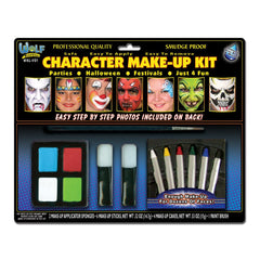 Wolfe Kids Face Painting Kits (10 Colors)
