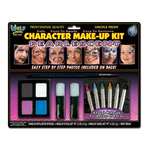 Wolfe Character Pearlescent Face Painting Kit