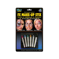 Wolfe Face Paint Crayons - Pearl (6/box)