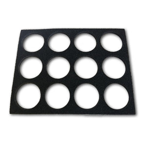 Empty Face Paint Palette Case Insert (Wolfe/FAB/Paradise/Ruby Red)