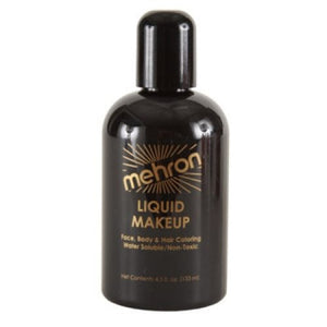 Mehron Liquid Face Paints - Black B