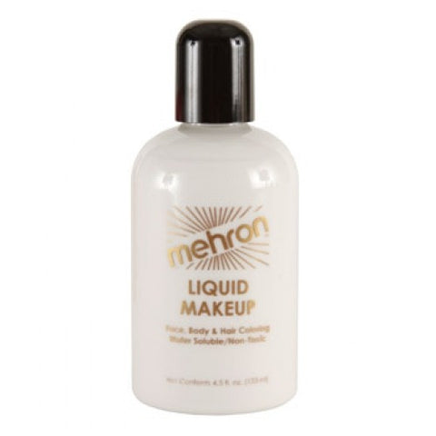 Mehron Liquid Face Paints - White W