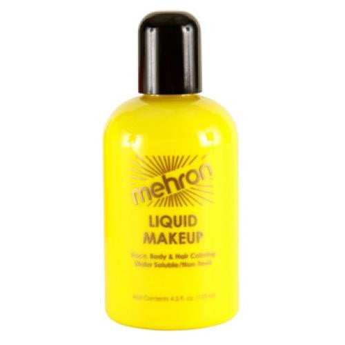 Mehron Liquid Face Paints - Yellow Y