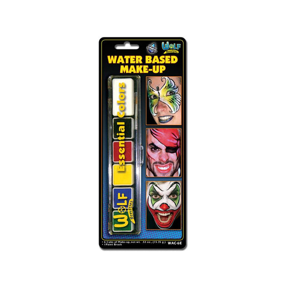 Klutz Face Painting Palette Refill (Wolfe, 6 Colors)