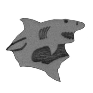 Ruby Red Face Paint Stamps - Shark