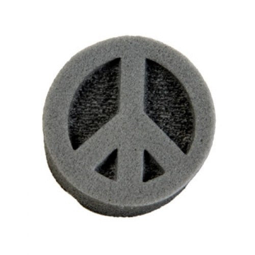 Ruby Red Face Paint Stamps - Peace Sign