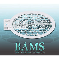 Bad Ass Mini Stencils - Snakeskin - BAM1005