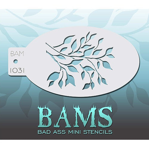 Bad Ass Mini Stencils - Tree - BAM1031