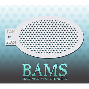 Bad Ass Mini Stencils - Dotty - BAM2031