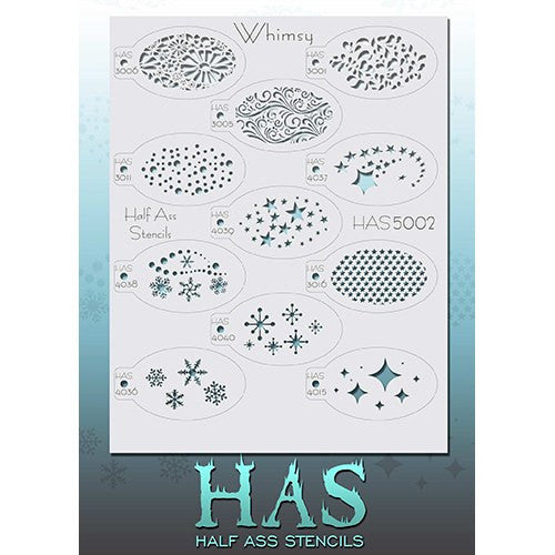 Half Ass Stencils (Whimsy - HAS5002)