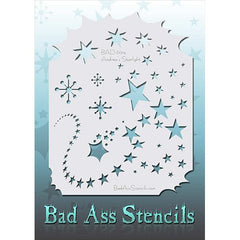 Bad Ass Full Size Stencils - Starlight - BAD6014