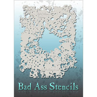 Bad Ass Full Size Stencils - Splatter - BAD6034