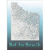 "Bad Ass Full Size Stencils - BAD6077 - Buckshot are about 8.5"" x 11"" in size and contain several related designs. They are perfect for a variety of body and face painting designs. Textured edges allow the artist to create multiple designs with the same sheet.<br><br>The Bad Ass line of stencils, launched by famous body paint artist - Andrea O'Donnell, are high quality, flexible, fun stencils that take body painting to the next level. These high grade mylar stencils are thin and work great for adding details"