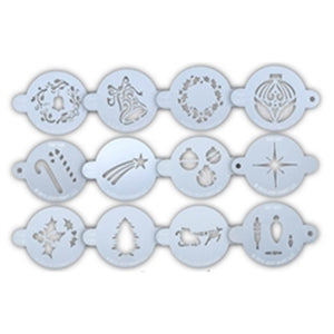 TAP Face Painting Stencils - Holiday Set of 12 Stencils + Ring