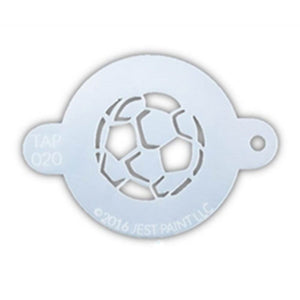 TAP Face Painting Stencil - Soccer Ball (020)