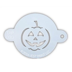 TAP Face Painting Stencil - Jack O'Lantern (030)