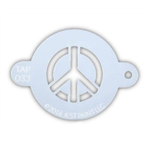 TAP Face Painting Stencil - Peace Sign (033)
