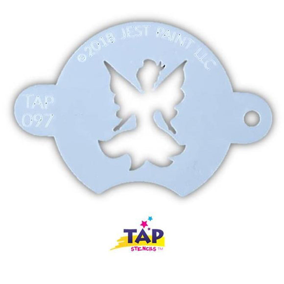 TAP Face Painting Stencil - Centerpiece Fairy (097)