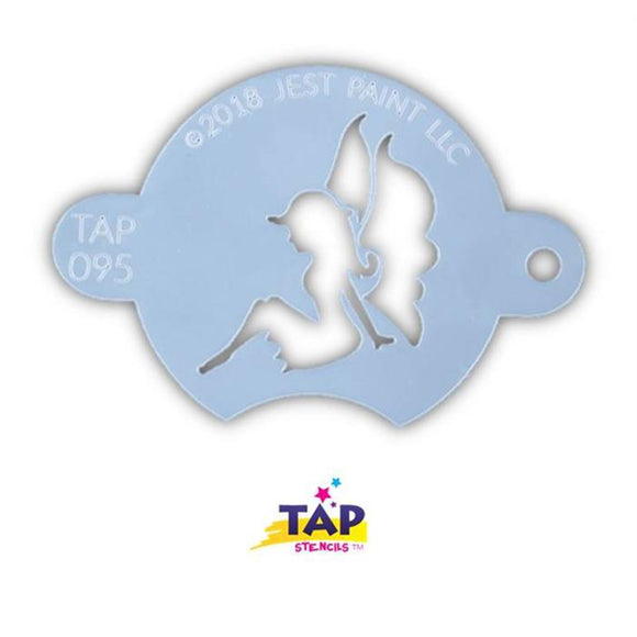 TAP Face Painting Stencil - Sitting Sweet Fairy (095)