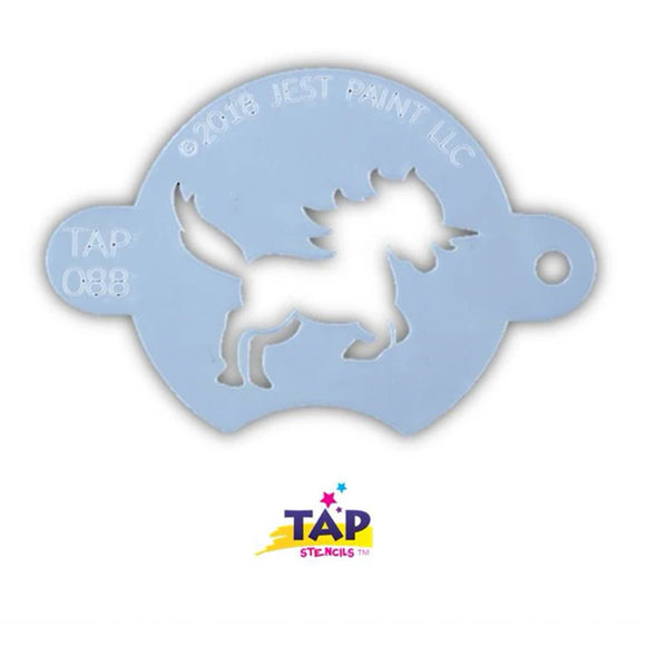 TAP Face Painting Stencil - Prancing Unicorn (088)