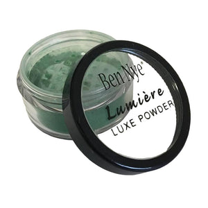 Ben Nye Lumiere Luxe Shimmer Powder - Mermaid Green (LX-9)