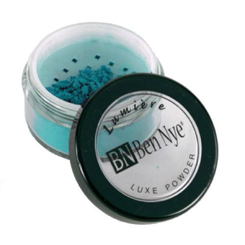 Ben Nye Lumiere Luxe Shimmer Powder - Turquoise (LX-11)