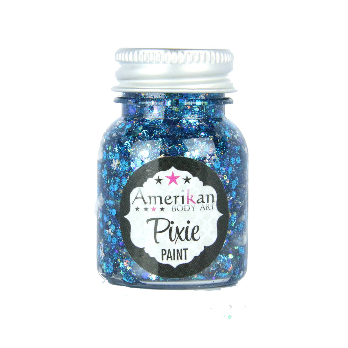 Amerikan Body Art Pixie Paint Glitter Gel - Midnight Blue (1 oz)