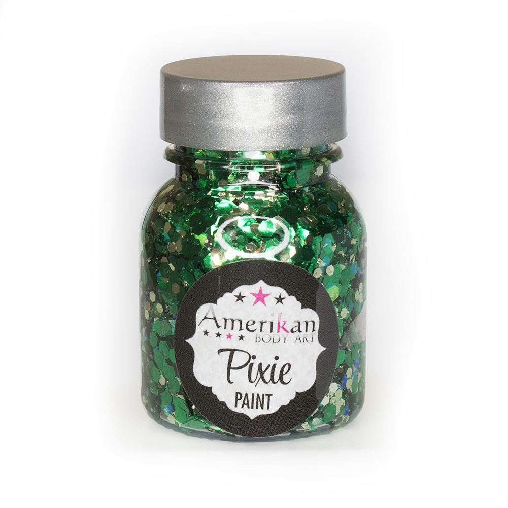 Amerikan Body Art Pixie Paint Glitter Gel - Absinthe (1 oz)