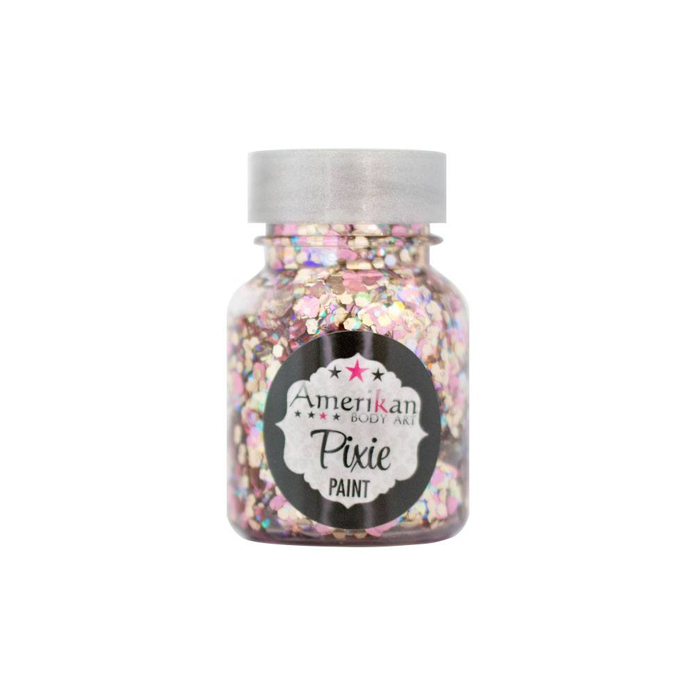 Amerikan Body Art Pixie Paint Glitter Gel - Be Mine (1 oz)