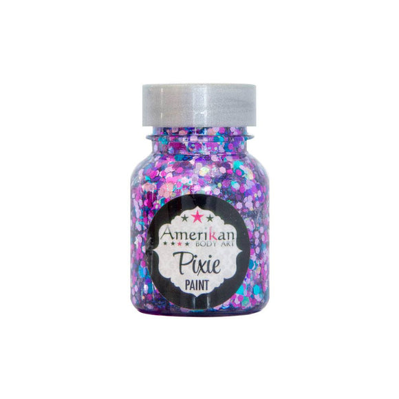 Amerikan Body Art Pixie Paint Glitter Gel - Fifi Royale (1 oz)