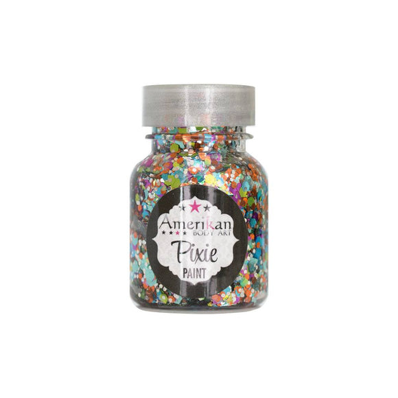 Amerikan Body Art Pixie Paint Glitter Gel - Tropical Whimsy (1 oz)