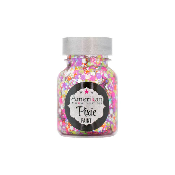 Amerikan Body Art Pixie Paint Glitter Gel - Valley Girl (1 oz)