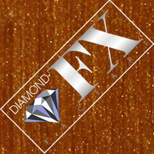 Diamond FX Gemstone Shimmer Powder - Amber
