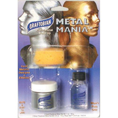 Graftobian Metal Mania Kit - Silver