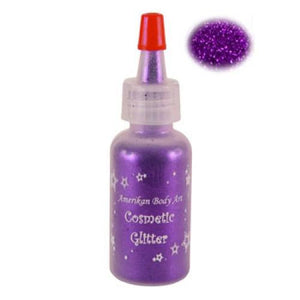 Amerikan Body Art Opaque Glitter - Grape Soda (0.5 oz)