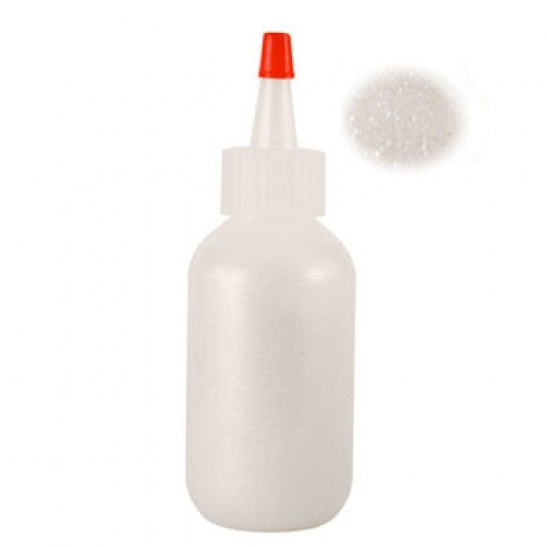 Amerikan Body Art Cosmetic Glitter - Brilliant White (Opaque)
