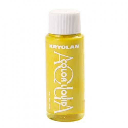 Kryolan Aquacolor Liquid - Yellow (1 oz)