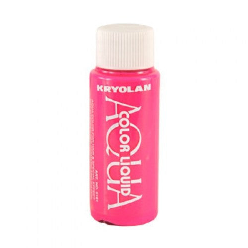 Kryolan Aquacolor Liquid - Day Glow Pink (1 oz)