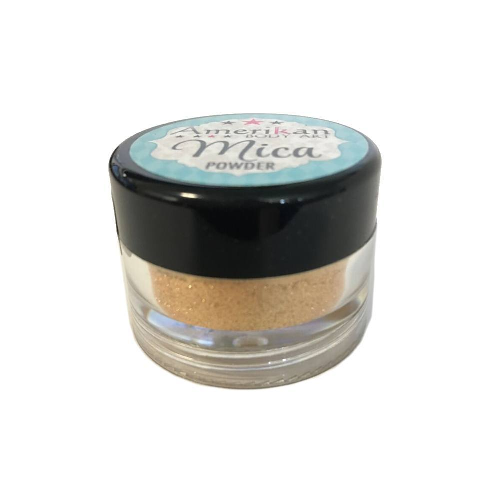 Amerikan Body Art Mica Powder - 24k Gold (10 ml)