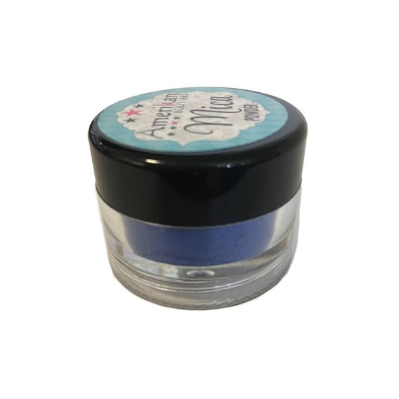 Amerikan Body Art Mica Powder - Blue Suede Shoes(10 ml)