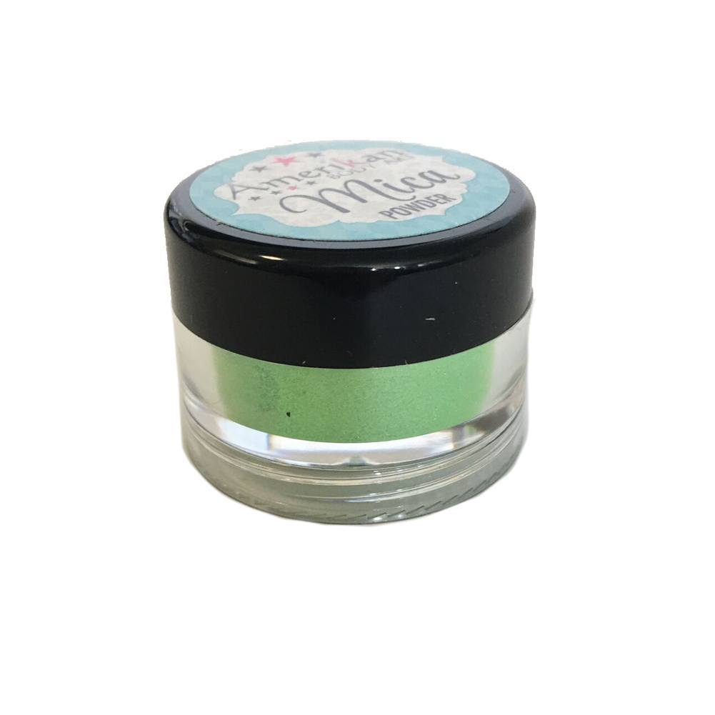 Amerikan Body Art Mica Powder - Green Apple (10 ml)