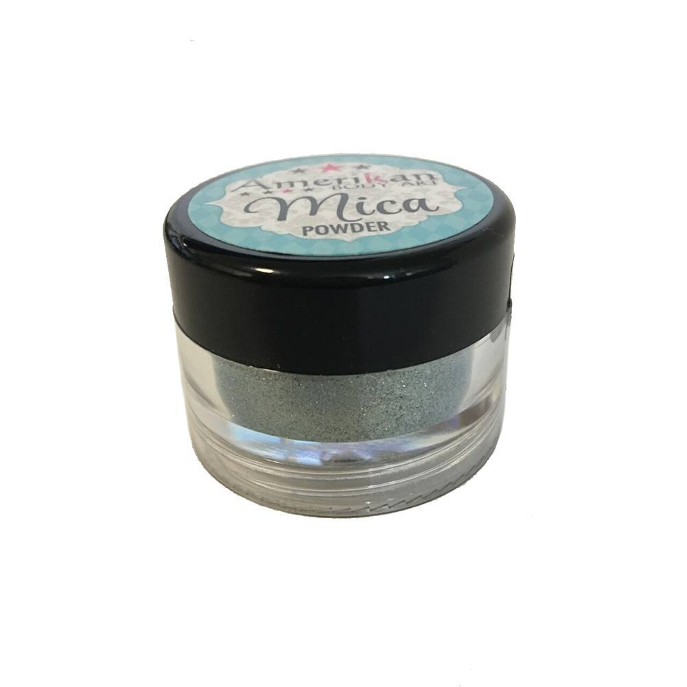 Amerikan Body Art Mica Powder - Pisces Blue (10 ml)