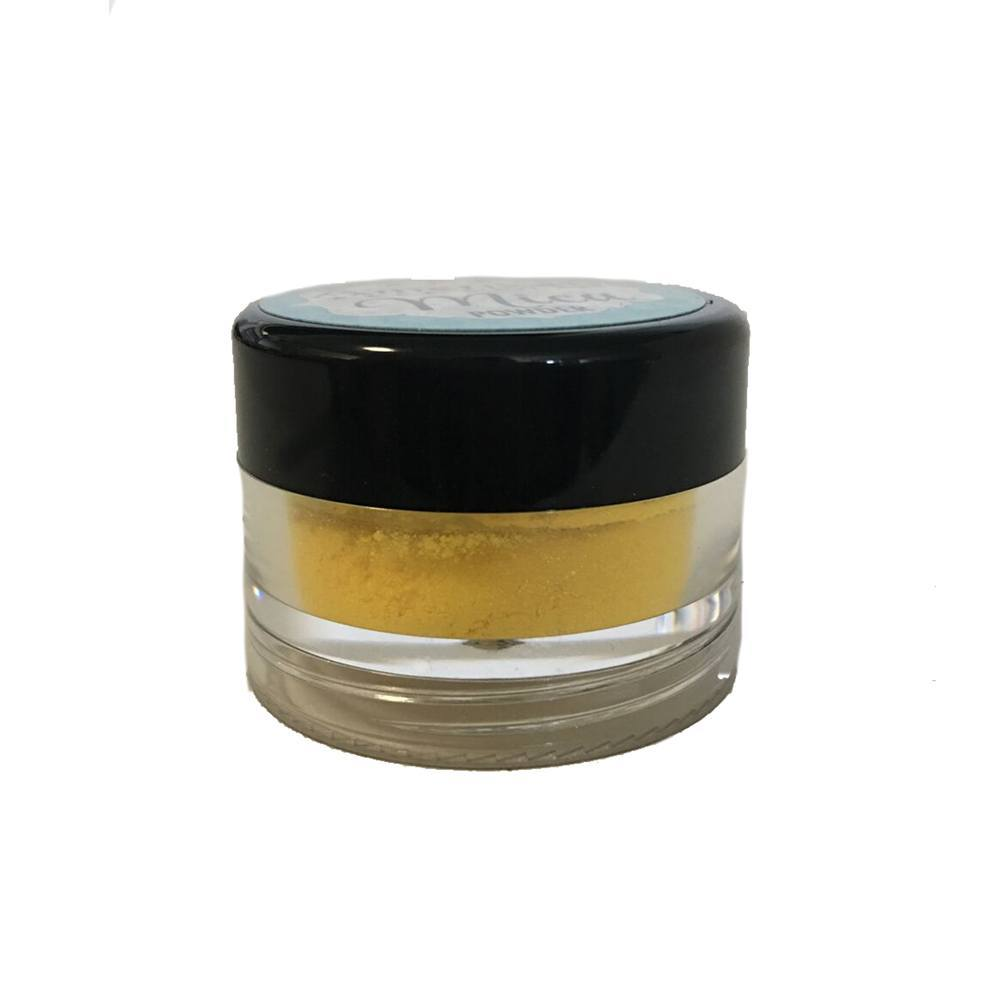 Amerikan Body Art Mica Powder - Sunflower Yellow (10 ml)
