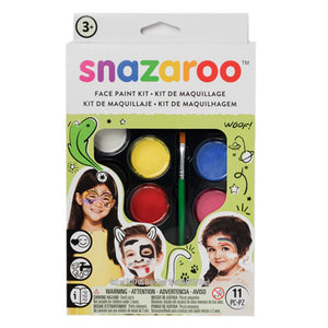Snazaroo Face Painting Palette Kits - Rainbow (8 Colors)