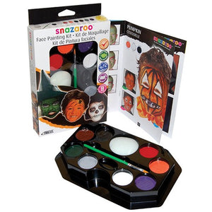 Snazaroo Face Painting Palette Kit - Halloween (8 Colors)