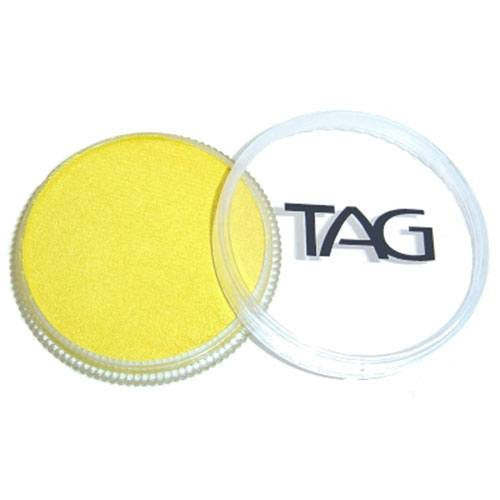 TAG Face Paints - Pearl Yellow (1.13 oz/32 gm)