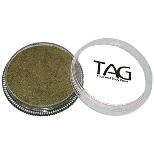 TAG Face Paints - Pearl Bronze Green (1.13 oz/32 gm)
