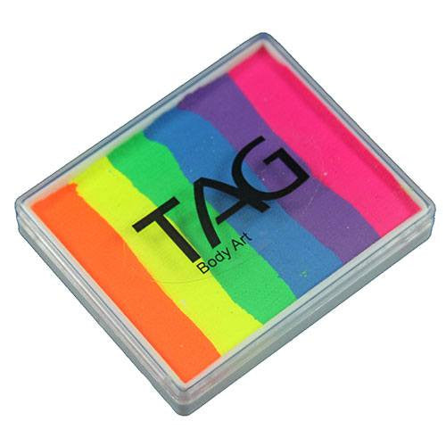 TAG Split Cake - Neon Rainbow (1.76 oz/50 gm)